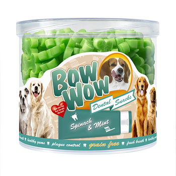 BW508 Dental Bones Spinach & Mint 1,2kg