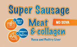 F353B Super Sausage Beef & Collagen